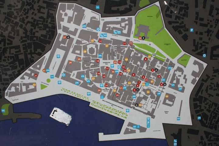 Resultado de imagen para split croacia mapa